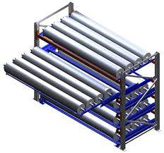 Bay with Pull-Out Units for PVC coils