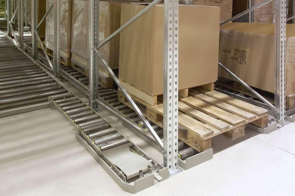 Dexionj Pallet Racking - Pallet Flow