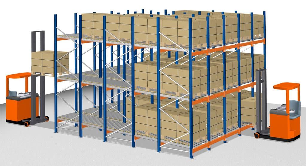 Pallet Racking - Pallet Flow