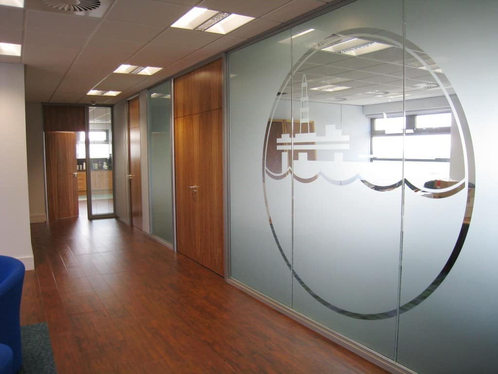 Glass Partitioning in Sheffield