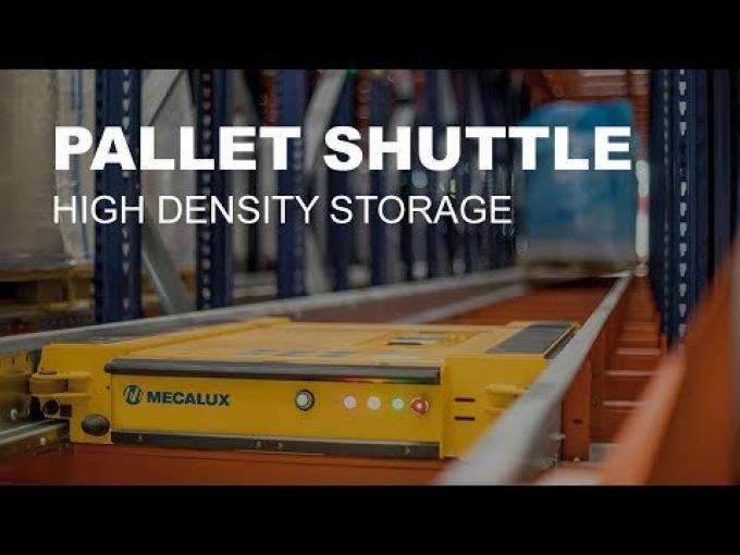Pallet Shuttle – High density storage