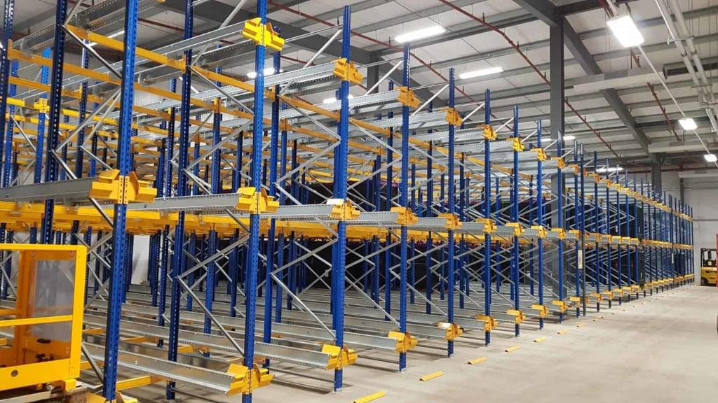 Britvic, Britvic will increase warehouse pallet storage density with Jungheinrich racking and shuttle solution