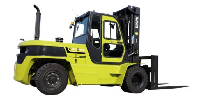 Clark has introduced a new diesel forklift with a load capability of 8 tons – MHW Journal