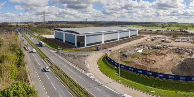 GMI Development Group completes new 103,947 sq ft speculative distribution unit for developer St Modwen in Burton – MHW Magazine