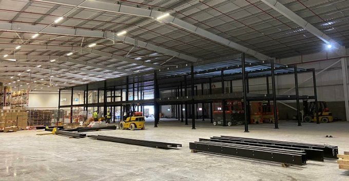 Pavers of York improves storage and distribution house