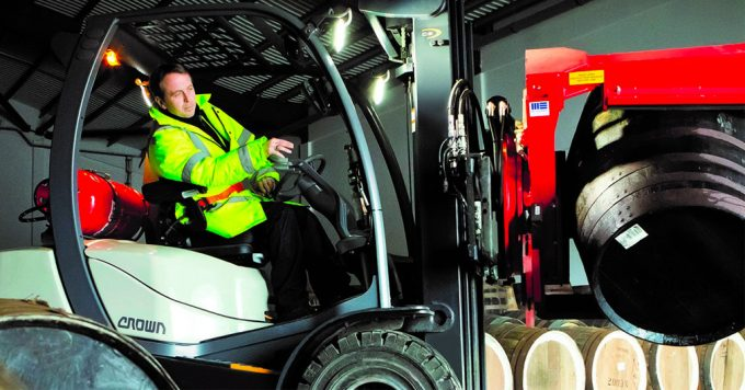 Security in figures: Nationwide Forklift Protection Working day