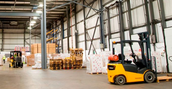 Very clear eyesight with Sentinel forklift technological know-how