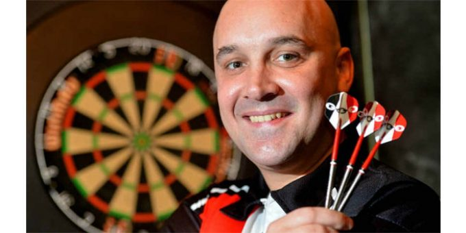 Narrow Aisle hit the bulls-eye with sponsorship deal for darts star – MHW Magazine